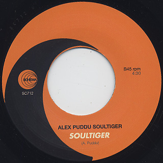 Alex Puddu feat. Joe Bataan / The Mover label