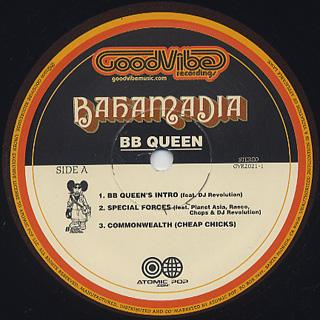 Bahamadia / BB Queen label