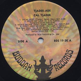 Cal Tjader / Tjader-Ade label