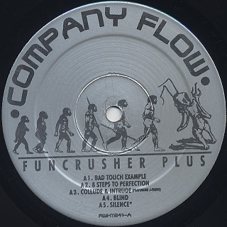 Company Flow / Funcrusher Plus label