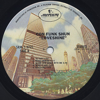 Con Funk Shun / Loveshine label
