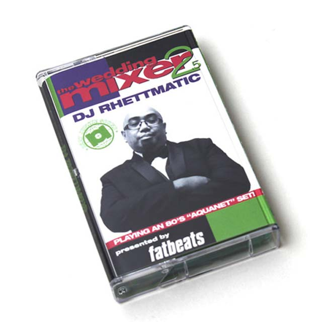 DJ Rhettmatic / the Wedding Mixer 2.5 front