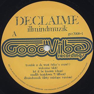 Declaime / Illmindmuzik label