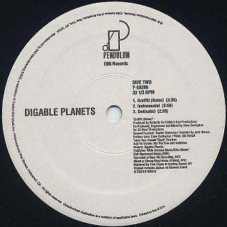 Digable Planets / Dial 7 label