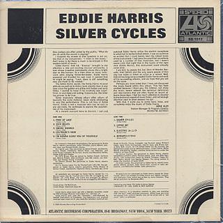 Eddie Harris / Silver Cycles back