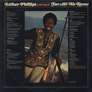 Esther Phillips With Beck / For All We Know back