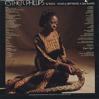 Esther Phillips w/ Beck / What A Diff'rence A Day Makes back
