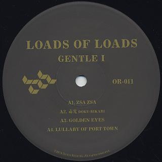 Gentle I / Loads Of Loads label