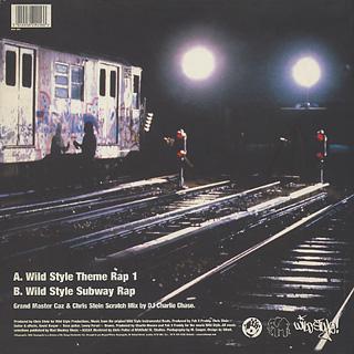 Grandmaster Caz & Chris Stein / Wild Style Theme Rap 1 / Wild Style Subway Rap back