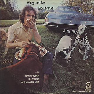 Jack Bruce / Things We Like front
