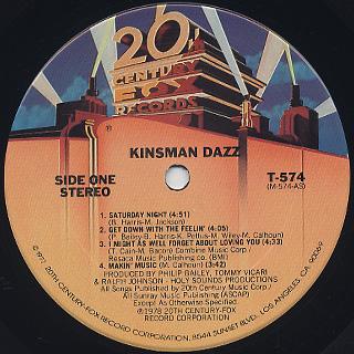 Kinsman Dazz / S.T. label