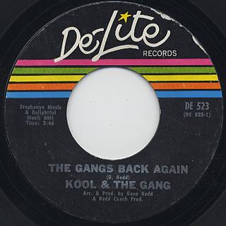 Kool And The Gang / Kools Back Again c/w The Gangs Back Again