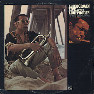 Lee Morgan / Live At The Lighthouse front