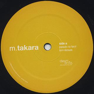 M. Takara / Ocupado Como Gado Com Nada Para Fazer label