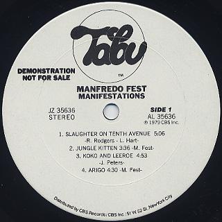Manfred Fest / Manifestation label