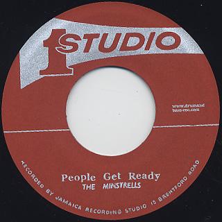 Minstrells / People Get Ready c/w Jackie Mittoo / Tropical Island back