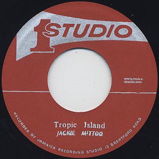 Minstrells / People Get Ready c/w Jackie Mittoo / Tropical Island label
