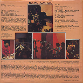 Norman Connors / Dance Of Magic back