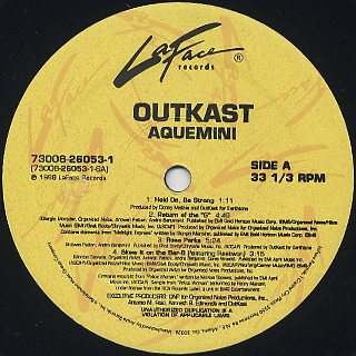 Outkast / Aquemini label