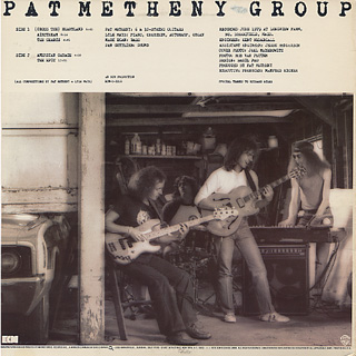 Pat Metheny Group / American Garage back