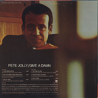 Pete Jolly / Give A Damn back