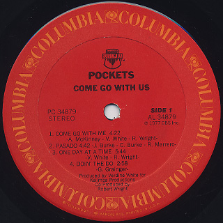 Pockets / Come Go With Us label