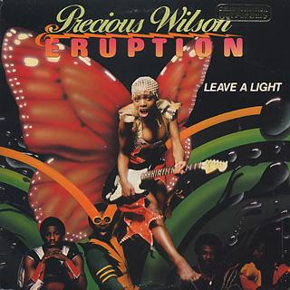 Precious Wilson & Eruption / Leave A Light