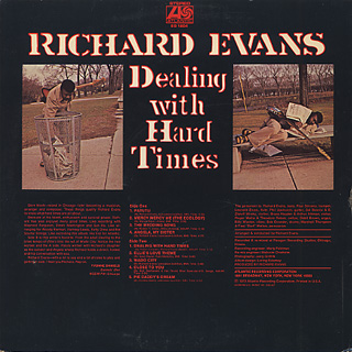 Richard Evans / Dealing With Hard Times back