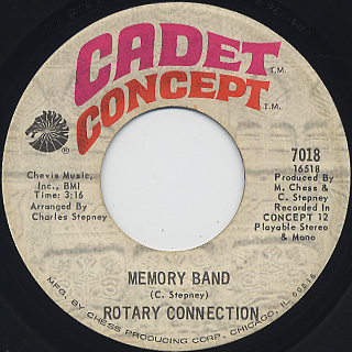 Rotary Connection / Memory Band (7