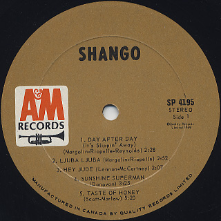 Shango / S.T. label