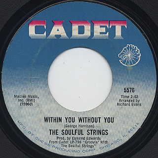 Soulful Strings / Burning Spear c/w Within You Without You back