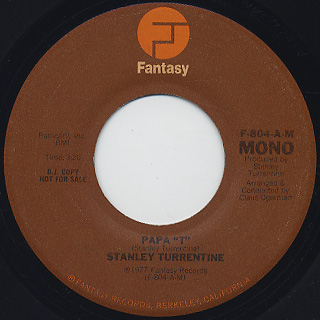 Stanley Turrentine / Papa