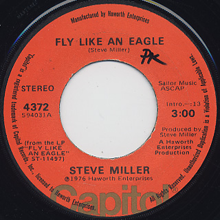 Steve Miller / Fly Like An Eagle front