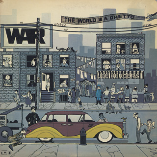 War / The World Is A Ghetto front