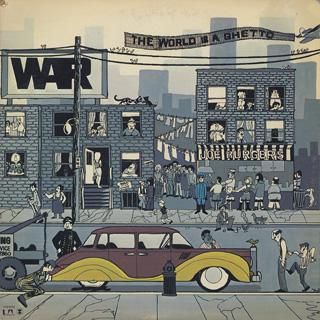 war the world is a ghetto lp united artists 中古レコード通販
