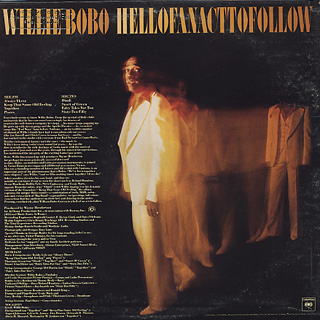 Willie Bobo / Hell Of An Act To Follow back