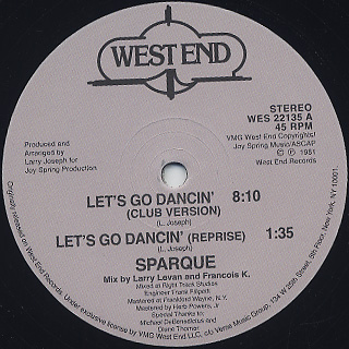 Sparque / Let's Go Dancin'