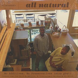 All Natural / No Additives, No Preservatives (Xtra Phat)