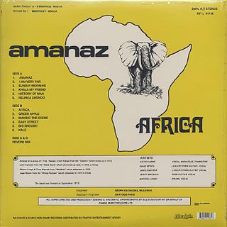 Amanaz / Africa back