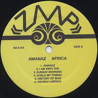 Amanaz / Africa label