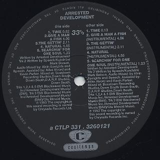 Arrested Development / Unplugged label