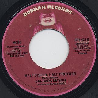 Barbara Mason / Half Sister, Half Brother back