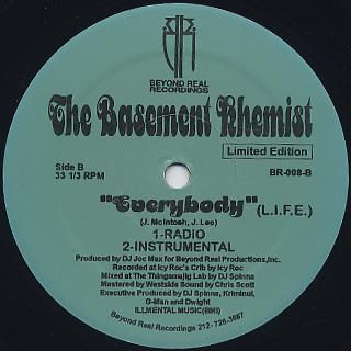 Basement Khemist / Vibrate c/w Everybody back