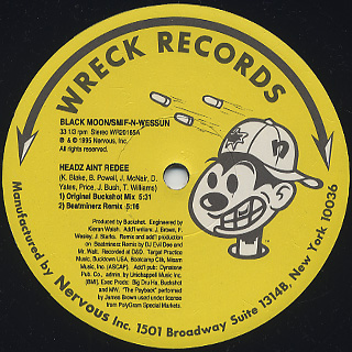 Black Moon / Headz Aint Redee c/w Black Smif-N-Wessun