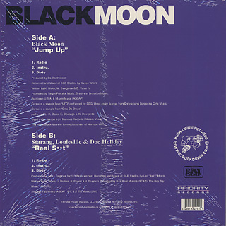 Black Moon / Jump Up back