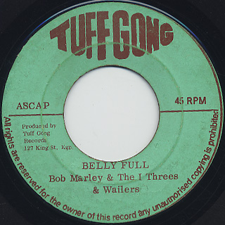 Bob Marley & The I Threes / Belly Full