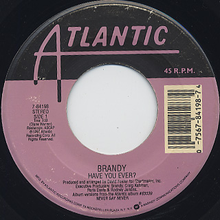 Brandy / Have You Ever? c/w Top Of The World(Remix)