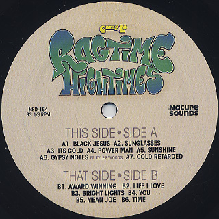 Camp Lo / Ragtime Hightimes label