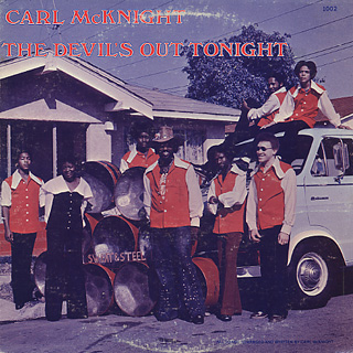 Carl McKnight / The Devil's Out Tonight front