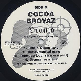 Cocoa Brovaz / Spanish Harlem label